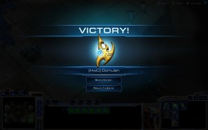 Protoss victory for OomJan.