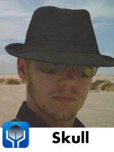 """Player: Eugene """"Skull"""" Grobler"""